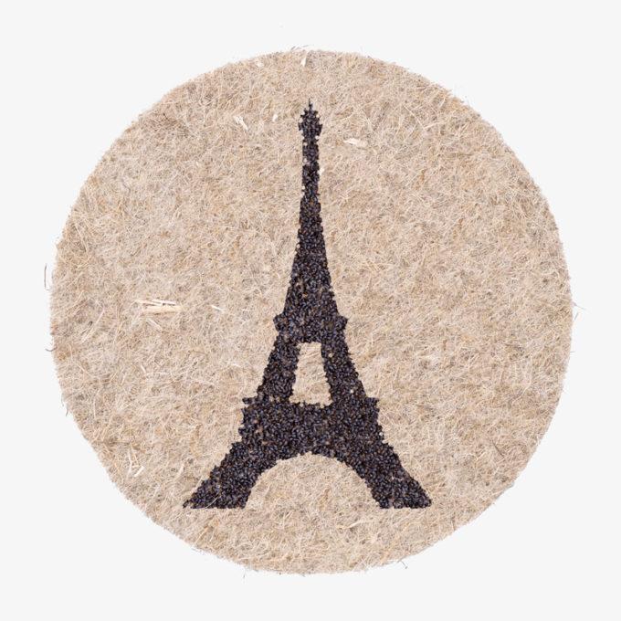 Eiffelturm aus Pflanzensamen zum gießen - perfekt als Geschenk