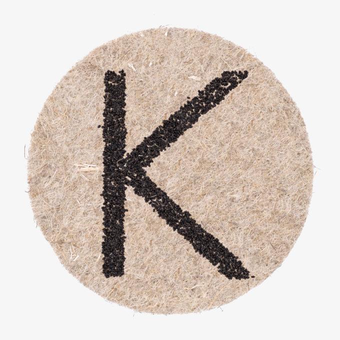 K seed designer letter
