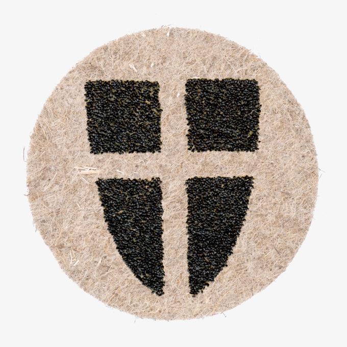 Wien Wappen aus Pflanzensamen zum gießen und wachsen lassen